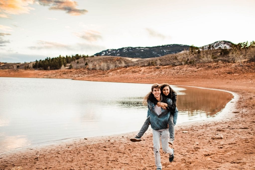 Fort Collins engagement session in the Rocky Mountains | Fort Collins wedding photographers
