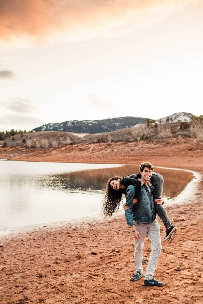 Fort Collins adventure session | Best Fort Collins elopement photographers