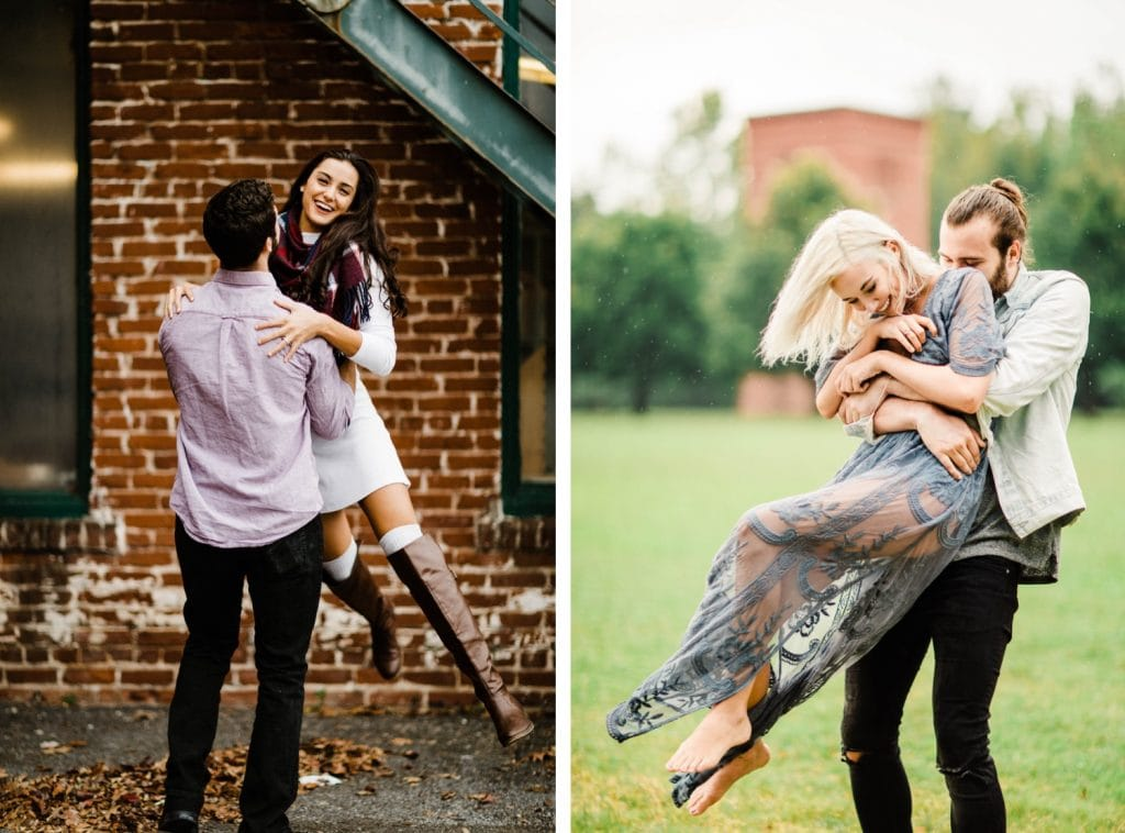 adventurous engagement fall outfit inspiration examples