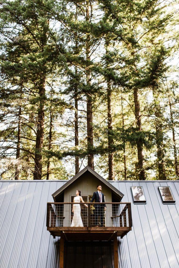 elopement first dance in Mt Rainier National Park | Seattle Washington elopement and adventure wedding photographers