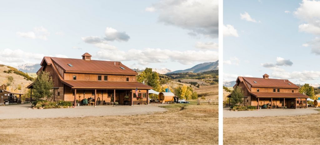 private horse ranch Telluride wedding venue in the San Juan Mountains