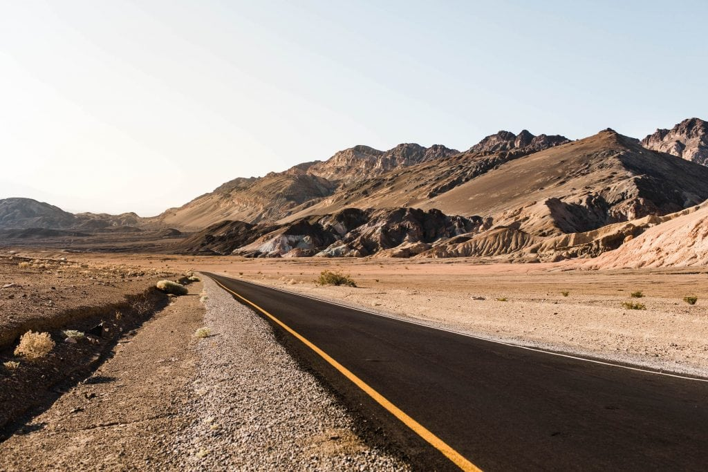 best places to elope in US | California desert elopement location