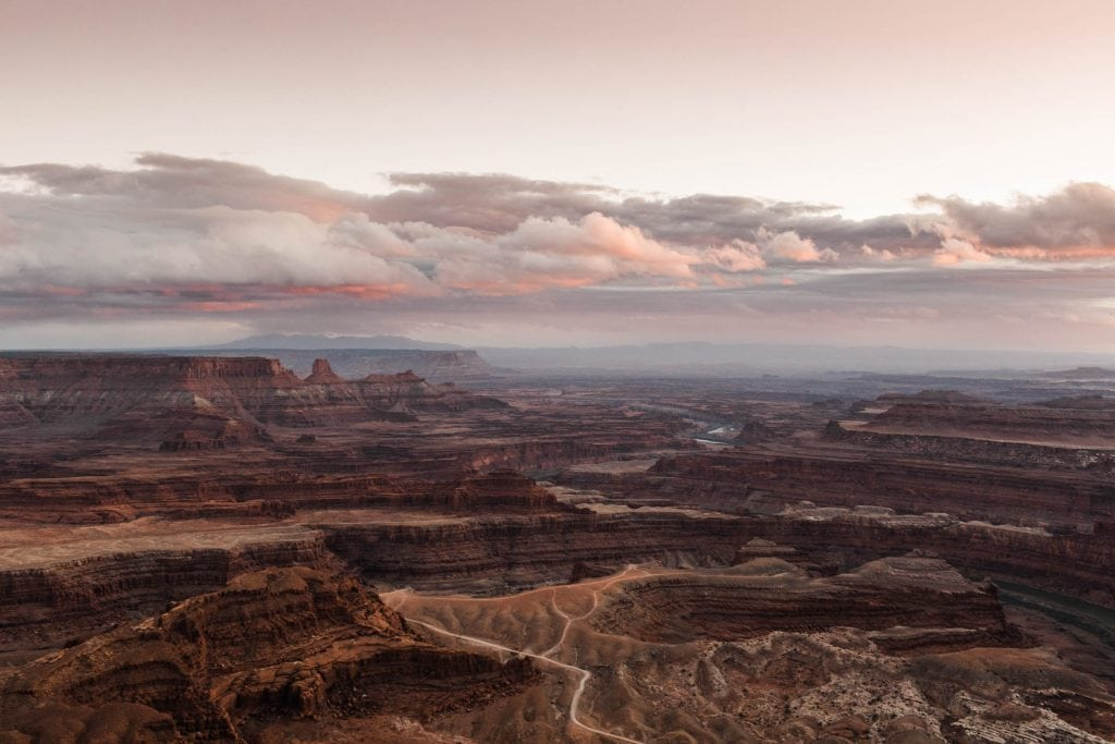 best places to elope in Utah | canyon in Moab at sunset