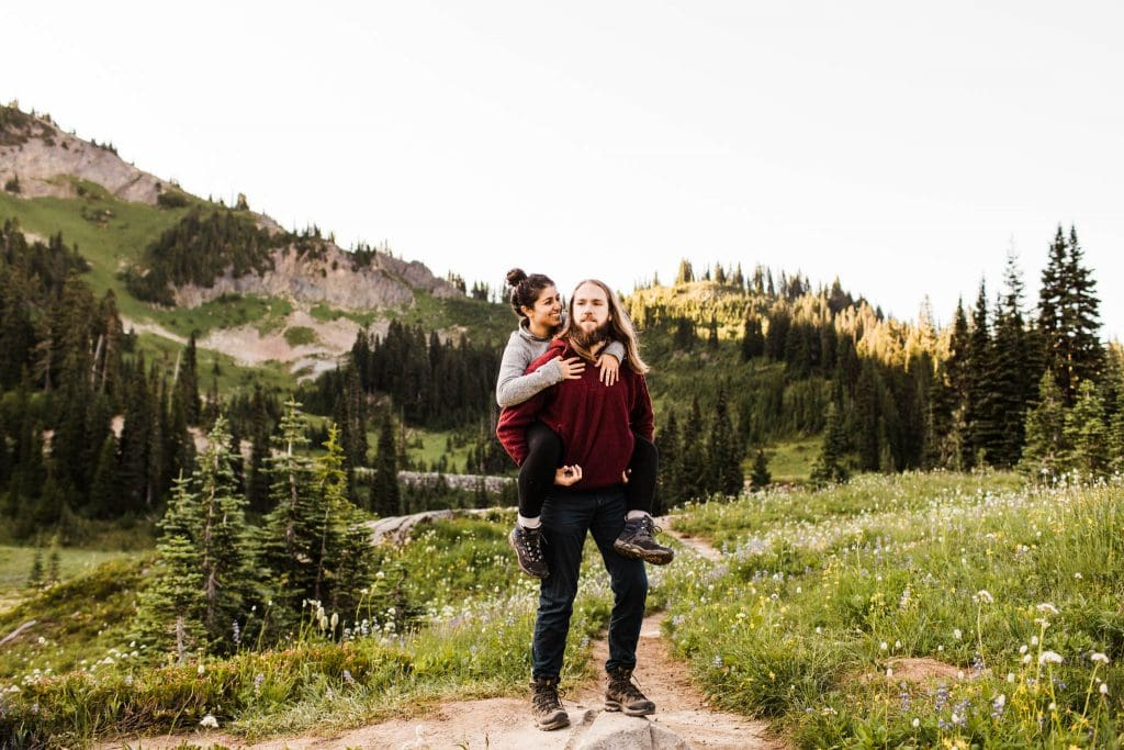 elopement photographers in the North Cascades