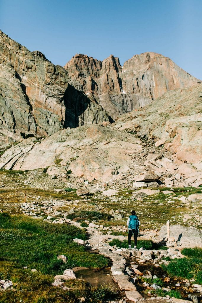 adventure elopement photographers exploring the Rocky Mountains
