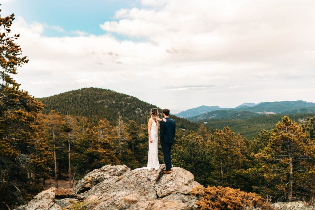 elopement vs wedding | the pros and cons of eloping in the mountains