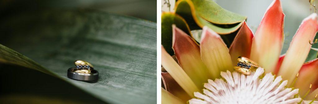 summery bouquet for a Denver Botanic Gardens wedding