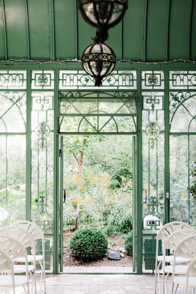 Denver Botanic Gardens Woodland Mosaic wedding venue