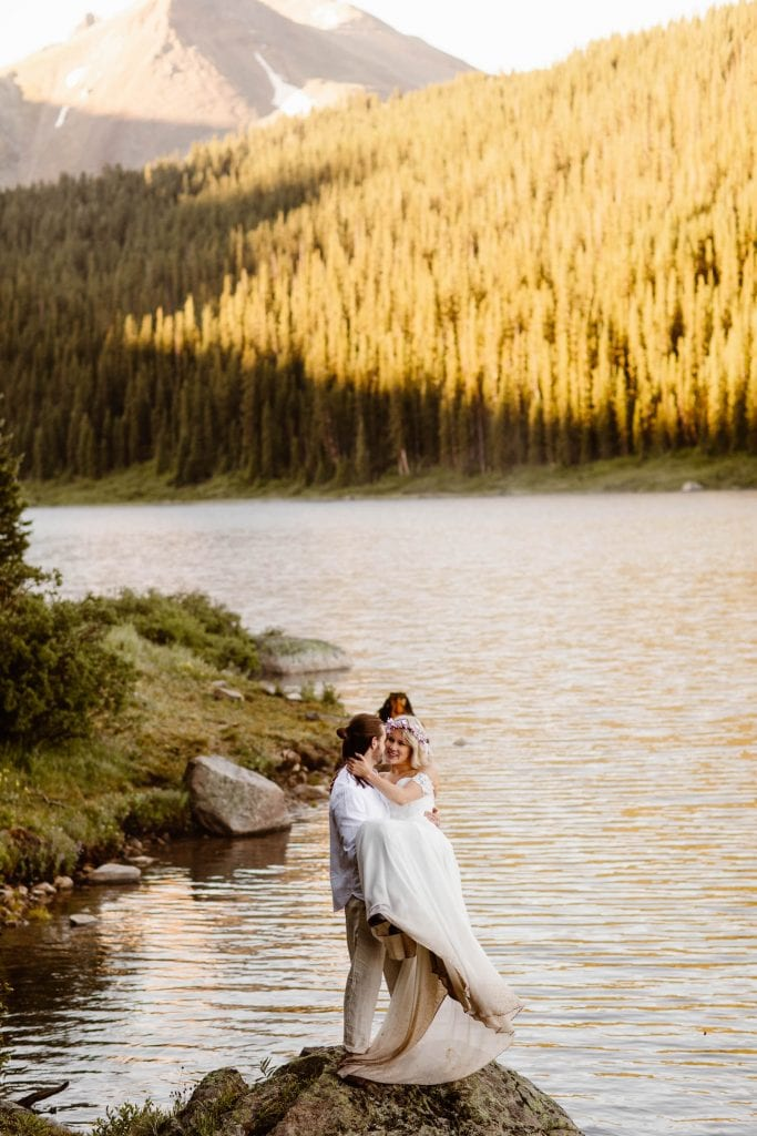 national forest small wedding venues in Colorado