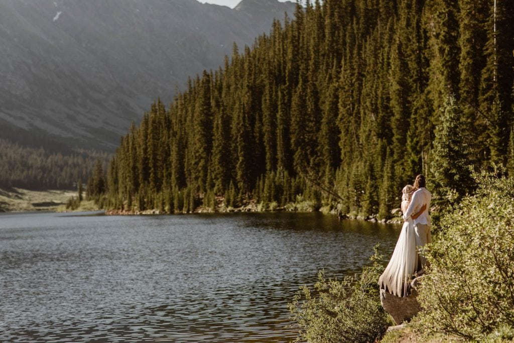 affordable small wedding venues in Colorado | high alpine locations