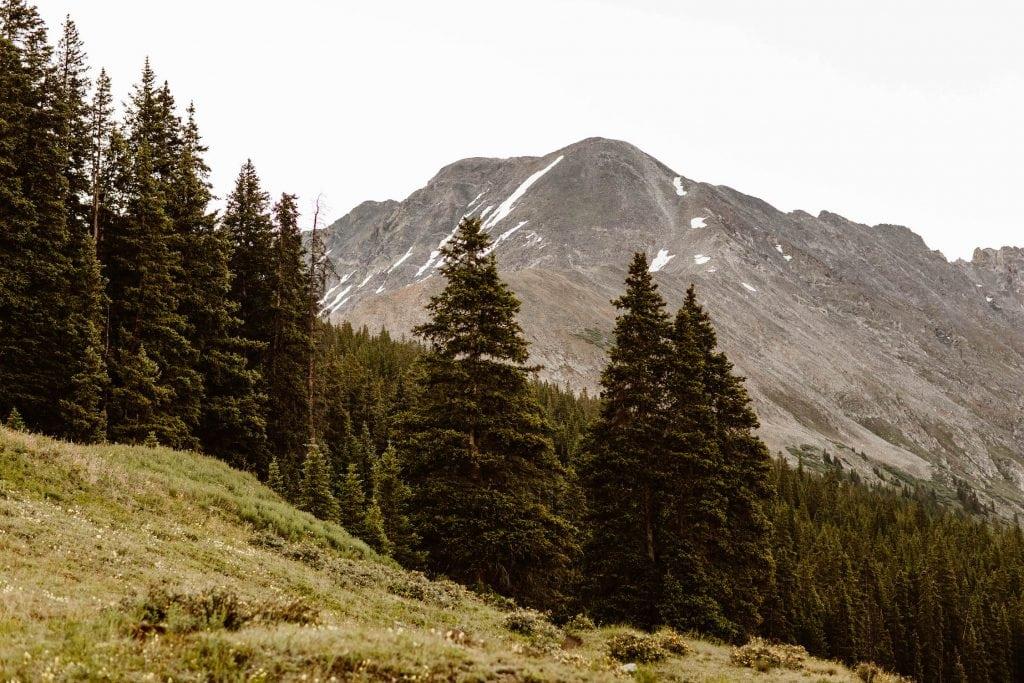 affordable small wedding venues in Colorado | mountains in Breckenridge