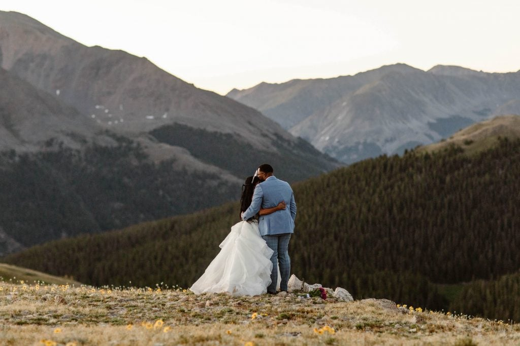 mountain pass small wedding venues in Colorado for affordable elopements