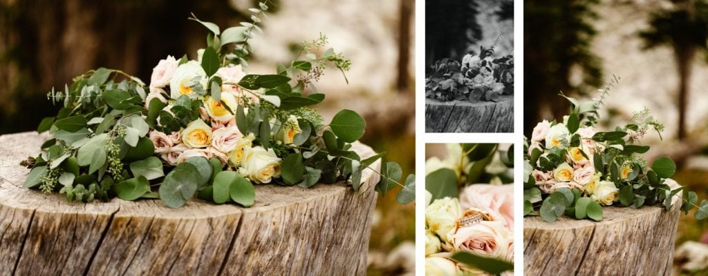 Wyoming wedding bouquet