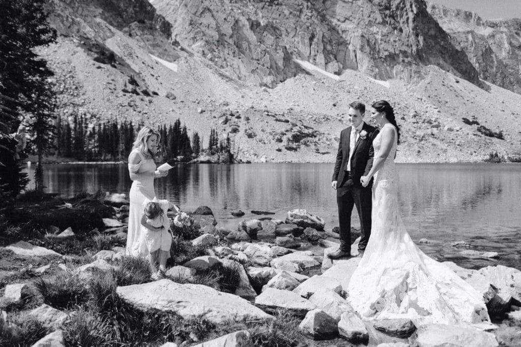 Wyoming wedding ceremony speeches
