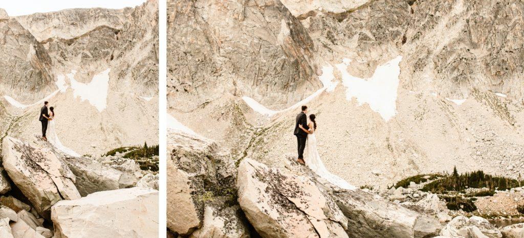 Wyoming wedding adventure photos