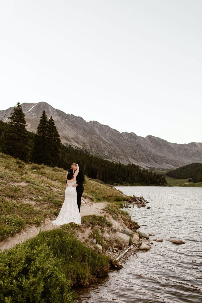 blue hour destination elopement photos