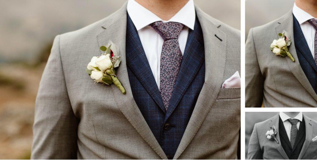 groom elopement attire