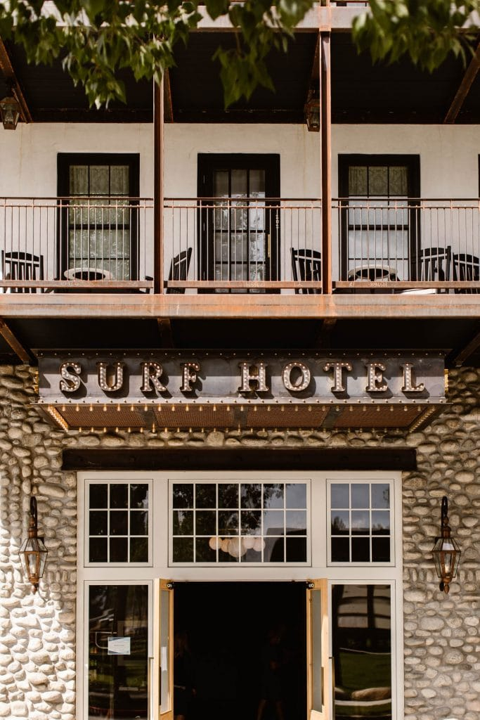 Surf Hotel Buena Vista CO exterior