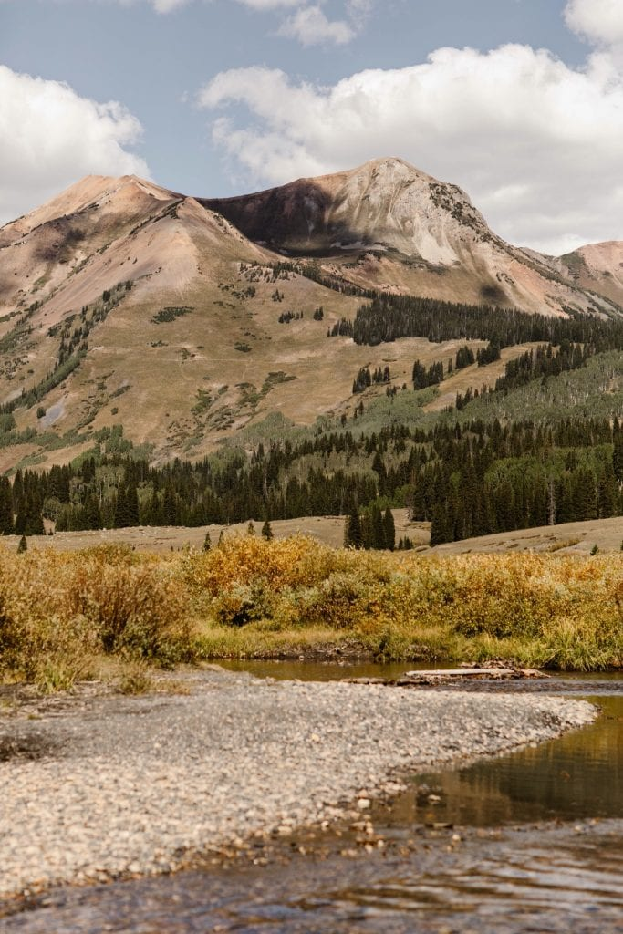 mountains in Crested Butte