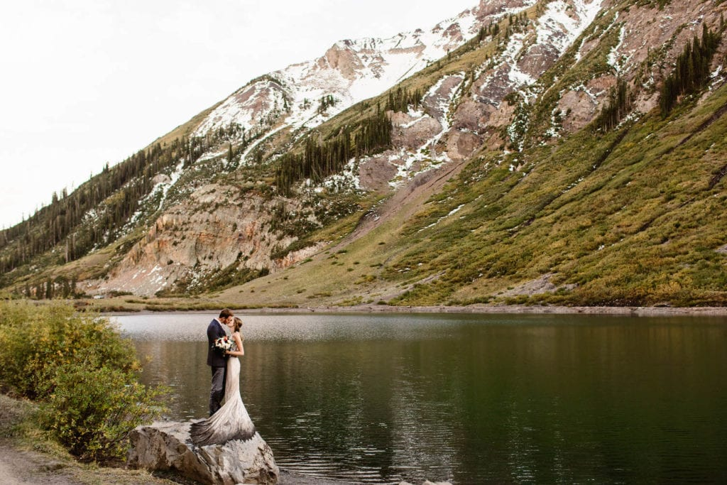 example of how to make an elopement special by choosing a location that is meaningful to you