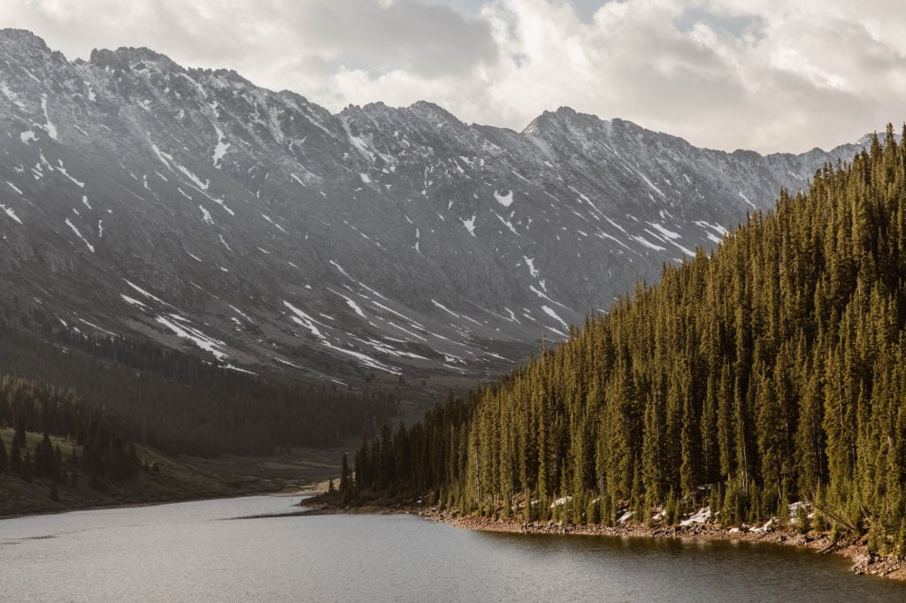 best mountain towns in Colorado - Frisco at sunrise in June