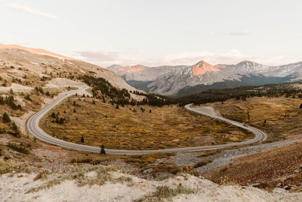 Colorado road trip stop near Buena Vista CO